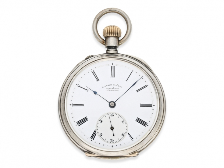 Unique Antique Silver&enamel Full Hunter Erotic Pocket Watch For Ottoman Market Pocket Watches